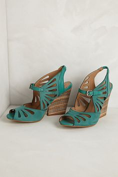 Kiva Wedges #anthropologie. I don't believe in wedges, but these are acceptable.