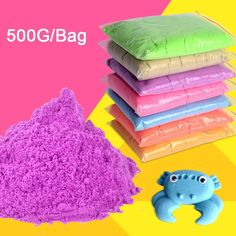 500g/Bag 2016 Dynamic Kinetic and Magic Sand Educational Play Toys #Unbranded