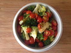 Receta de Ensalada de brócoli y tomate - Fácil