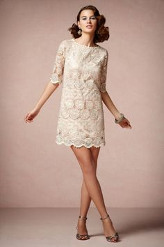 Last one for the day, who doesn't love the femininity of lace. - BHLDN
