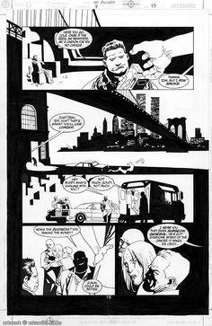 100 Bullets #009 pg.15 Comic Art