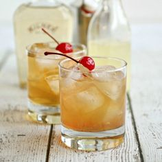 Bourbon, Apple and Ginger Sour