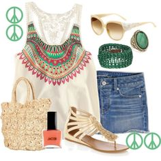 This is kind of cute for the summer.