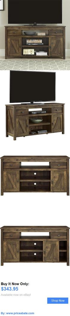 Entertainment Units, TV Stands: Rustic Entertainment Center Tv Stand Media Console Table Wood Farmhouse Barn New BUY IT NOW ONLY: $343.95 #priceabateEntertainmentUnitsTVStands OR #priceabate