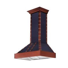ZLINE 30 in. 900 CFM Wall Mount Range Hood in Black and Copper 655-BCCCS-30 at The Home Depot - Mobile