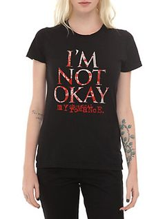 Shop for the latest band merch, pop culture merchandise, gifts & collectibles at Hot Topic! From band merch to tees, figures & more, Hot Topic is your one-stop-shop for must-have music & pop culture-inspired merch. Grunge Style, Soft Grunge, Emo Style, Funny Disney Shirts, Funny Shirts Women, T Shirts For Women, My Chemical Romance, Casual Cosplay, Band Merch