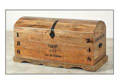 Truhe Rustic Runddeckeltruhe Massivholz Mango 7668. Buy now at https://www.moebel-wohnbar.de/truhe-rustic-runddeckeltruhe-holztruhe-massivholz-mango-antik-7668.html