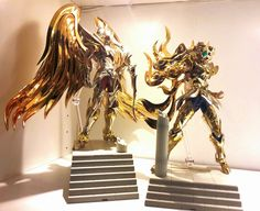 Myth Cloth Ex Saint Seiya Soul of Gold Brothers in Arms Sagipter no Aiolos & Leo no Ioria