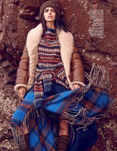 visual optimism; fashion editorials, shows, campaigns & more!: amanda wellsh by mariano vivanco for vogue russia november 2014