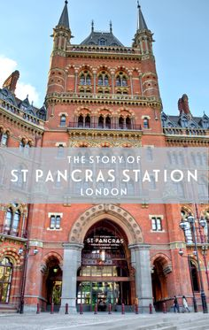 The story of London's St Pancras station, a stunningly ornate Victorian Gothic-style building that came close to being destroyed before being saved by poet John Betjeman