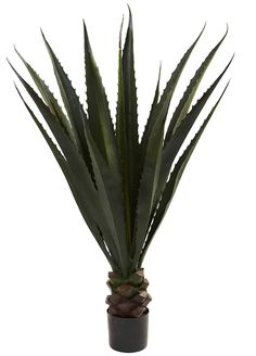 Giant Agave Artificial Silk Tree with Planter   52 inches