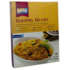 Buy Bombay Biryani online fom Spices of India - Free delivery on Bombay Biryani - Ashoka (conditions apply). Cooking Basmati Rice, Vegetable Rice, Coriander Powder, Green Chilli, Mixed Vegetables, Tomato Paste, Biryani, Indian Food Recipes, Packaging Design