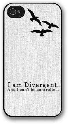October Wish — I Am Divergent iPhone Case