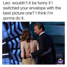 What really happened at the Oscars