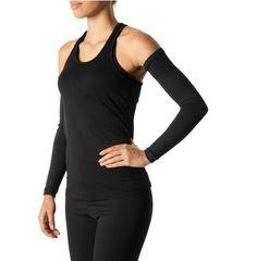 Esse manguito preto da UV Line com filtro solar FPU 50+ impede a passagem de 98% dos raios UVA e UVB. Seus braços ficam totalmente protegidos, sem necessidade de passar filtro solar a cada duas horas. Ideal para caminhadas, corridas e bike. E fica super estiloso com camiseta!
