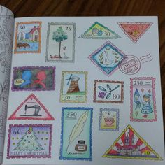Romantic Country coloring book, book one