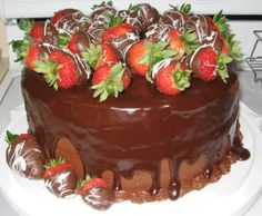 Perfect Made Strawberry Cakes - Lady From USA