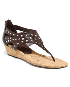 Donald J Pliner 'Decima' Leather Thong Sandal