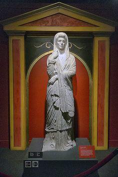 IMG_1539 - Pompeii Exhibit, Museum of Science, Boston, MA.... funerary statue.