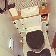 Bathroom/DIY/トイレ改造のインテリア実例 - 2014-07-21 05:03:07 | RoomClip (ルームクリップ)