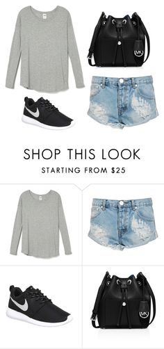 """Crystal Keffler STS"" by sabbtenn on Polyvore featuring One Teaspoon, NIKE, MICHAEL Michael Kors, women's clothing, women's fashion, women, female, woman, misses and juniors"