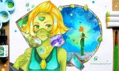 +Peridot - Steven Universe+ by larienne