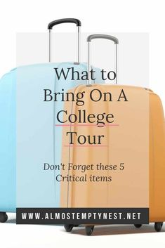 What To Bring On A College Tour College Essentials, College Hacks, College Life, College Campus, Espn College, College Success, Boston College, State College, Senior Year Of High School