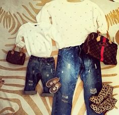 Honeypie Jeans Set Mommy and Me Jeans Mommy by CurlyQsCounter