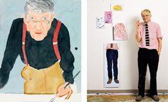 Dive into David Hockney's insanely big splash - Luisa World David Hockney, Scandinavian Art, Diving, Cool Designs, The Past, In This Moment, Illustration, Artist, Big
