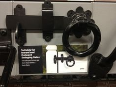 Nifty gate lock at Home Depot $25