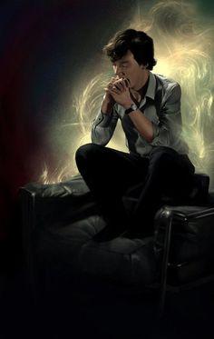Sherlock BBC Art | VK
