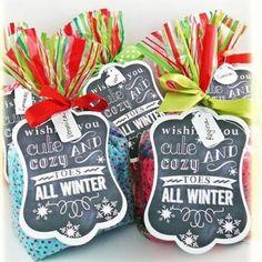 Cozy Toes Free Printable {frugal christmas presents} Frugal Christmas, Christmas Printables, Diy Christmas Gifts, Christmas Holidays, Christmas Ideas, Christmas Gift From Teacher, Tacky Christmas, Cute Christmas Presents, Christmas Nails
