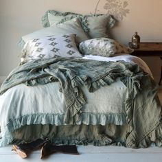 Bella Notte Bedding, we love all of Bella Notte Linens options for colors, style, and comfort. Superior quality at that. Come by June DeLugas Interiors and let us help you pick out your custom Bella Notte Linens bedding.