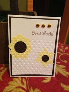 Good Luck Card by CarolsSecretTreasure on Etsy, $2.00