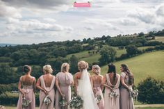 Bridesmaid Bouquet, Bridesmaids, Bridesmaid Dresses, Wedding Dresses, Summer Wedding, Bouquets, Wedding Flowers, Couple Photos, Couples