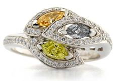 GRAFF | Multi-colored Diamond Ring