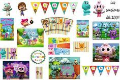 Kit canciones del zoo Party Planning, Gallery Wall, Baby Boy, Baby Shower, Cartoon, Holiday Decor, Birthday, Frame, Mix