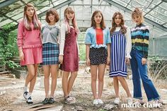 G-Friend - Marie Claire Magazine August Issue Marie Claire, Gfriend Yuju, Cloud Dancer, G Friend, Girl Bands, Ultra Violet, Ulzzang, Girl Group, My Girl