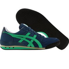 Asics Onitsuka Tiger Womens Ultimate 81 (navy / deep mint) D1N7N-5084 - $64.99