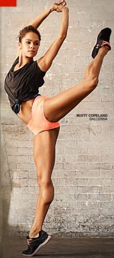 Misty Copeland: First African American Principle Ballerina of the American Ballet Theater Michelle Lewin, Yoga, Weight Lifting, Estilo Fitness, American Ballet Theatre, Ballet Theater, Misty Copeland, Dance Movement, Ballet Dancers