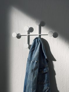 A Coat Rack Inspired by Bauhaus and Modernism - Menu Afteroom Coat Hanger Designed by Swedish Design Duo Afteroom Swedish Design, Danish Design, Nordic Design, Urban Design, Bauhaus, 6 Month Baby Picture Ideas, Modernisme, Wall Mounted Coat Rack, Color Powder