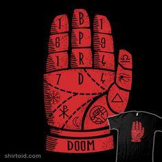 The Right Palm of Doom #claygraham #comic #comics #film #hellboy #movie