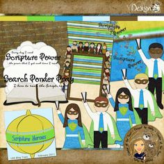 DesignZ by DeDe: LDS Blog Train   Scripture Heroes