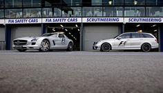SLS AMG GT Official F1® Safety Car und C 63 AMG T-Modell Official F1® Medical Car