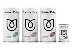Packaging ecológico        Naturepaintpintura de ingredientes únicamente naturales, incluye arcillas y pigmentos locales. Diseño de BB Studio Find more: Blog del Diseño