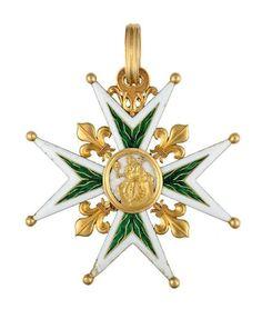 FRANCE_Croix de l'Ordre de St. Lazare et de Notre-Dame du Mont-Carmel.