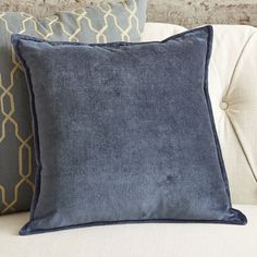 You'll love the Becca Decorative Pillow Cover at Birch Lane - With Great Deals on all products and Free Shipping on most stuff, even the big stuff.