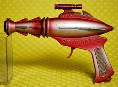 ATTIC OF ASTOUNDING ARTIFACTS: Dan Dare Space Pistol (Lone Star / 1950s / U.K. / 5.5 x 7.5 inches)