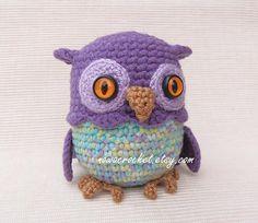 Owl mini casket  PDF crochet pattern by Nowacrochet on Etsy, €4.50