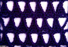 Patrón #960: Punto Calado a Crochet   CTejidas [Crochet y Dos Agujas]